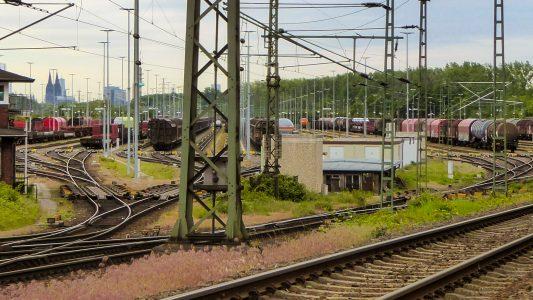 Ein Bahnhof als Sortiermaschine