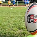 Ein Ei hinter die Ziellinie legen – Rugby