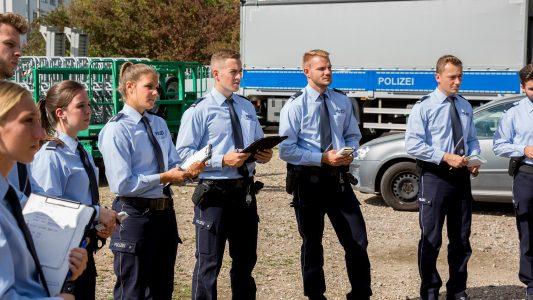 Lernen, dein Freund und Helfer zu sein – in der Polizeischule