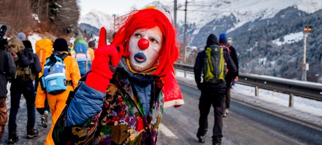 Das Weltwirtschaftsforum in Davos