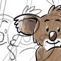 Zappzarapp … einen Koala zeichnen