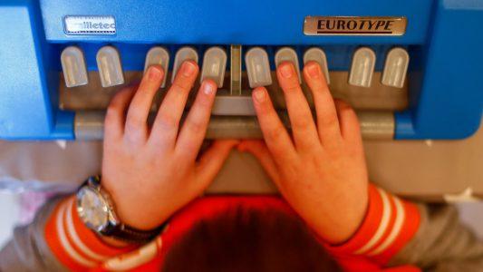 Mit den Fingern lesen