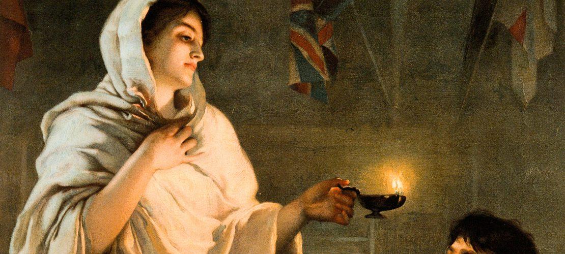 Die Dame mit der Lampe