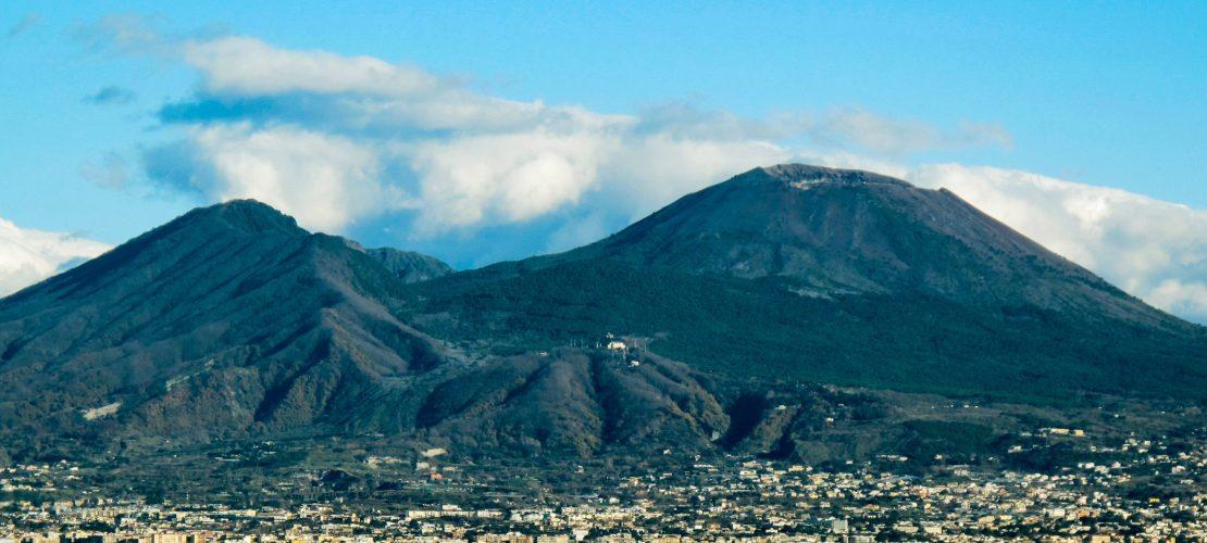 Krater statt Gipfel