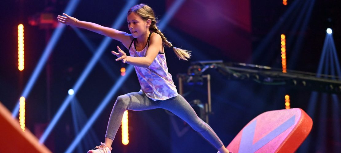 Ninja Warrior Germany Girl