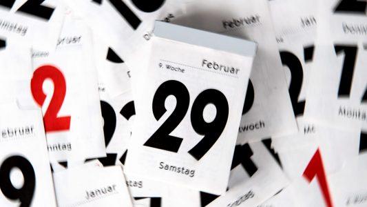 Chaos im Kalender