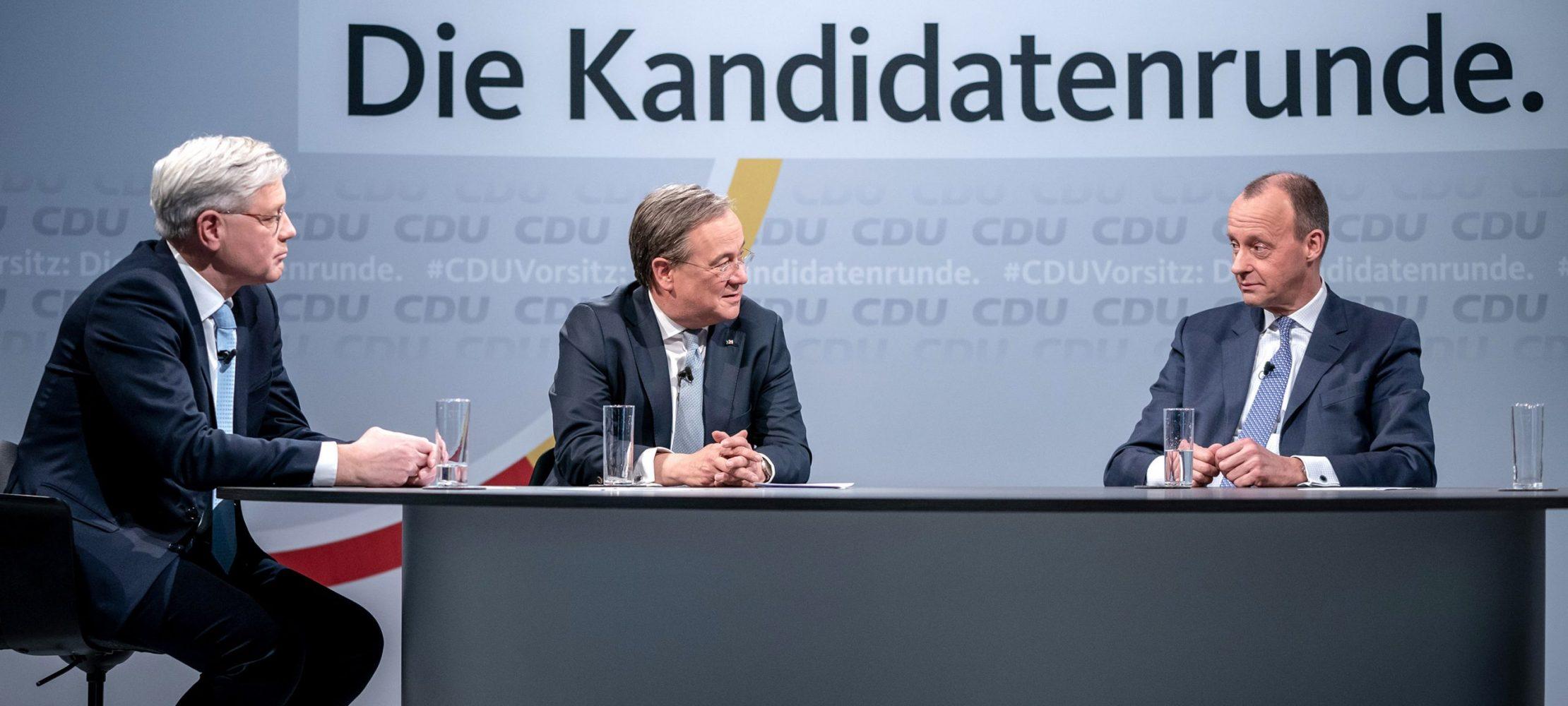 سه مرد برای CDU
