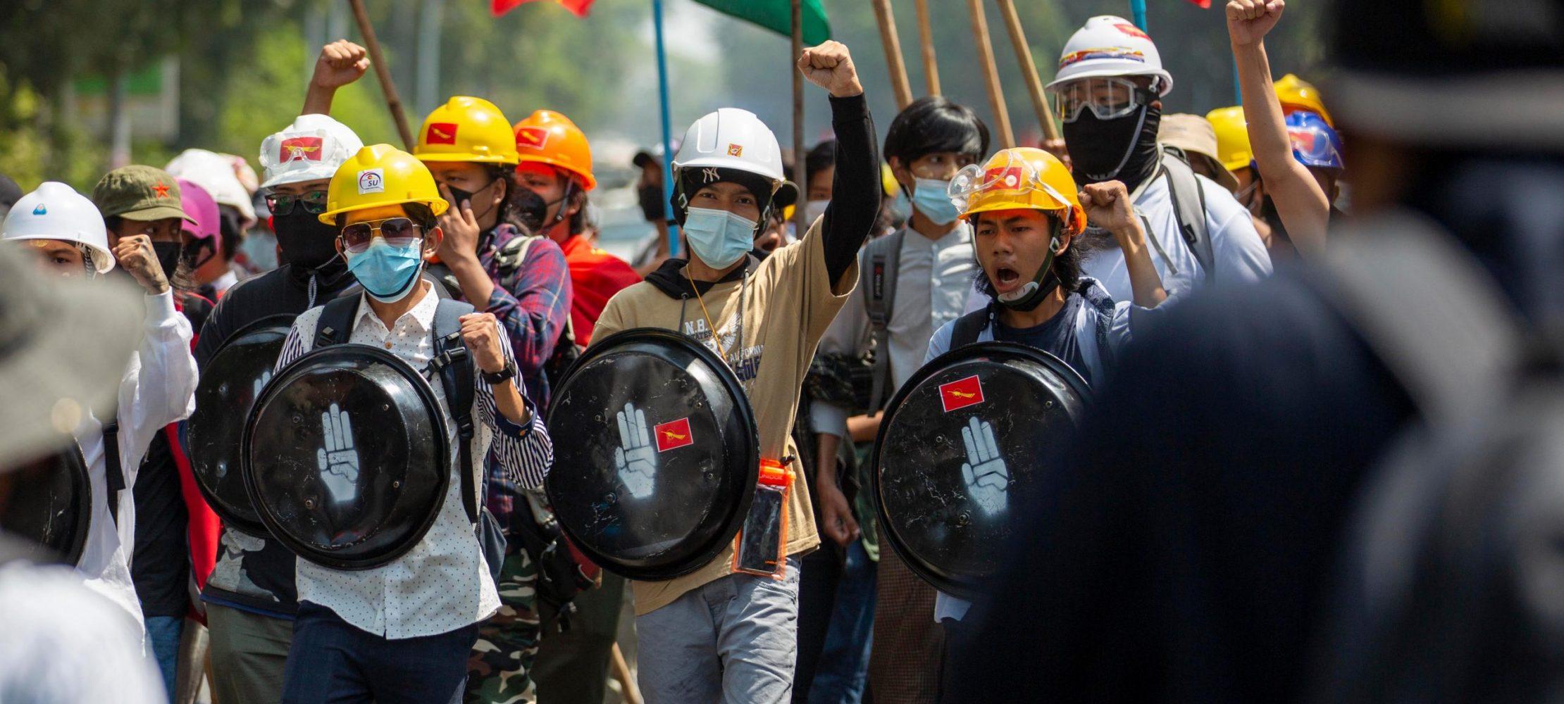 اعتراض مردم سالاری