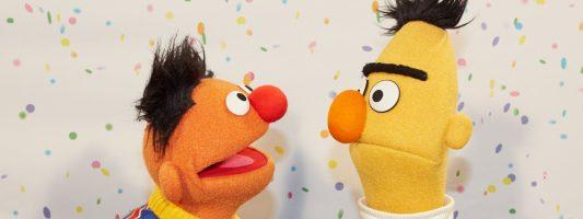 So aufgedreht wie Ernie